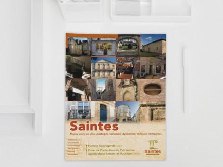 Saintes - Plaquette