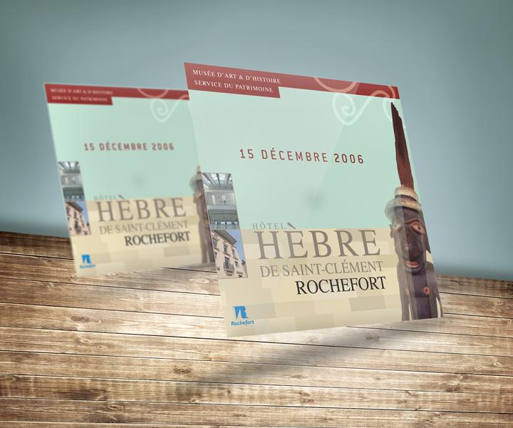 Hôtel Hèbre Saint-Clément de Rochefort - Invitation