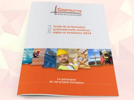 Constructys - Guide de la formation professionnelle continue