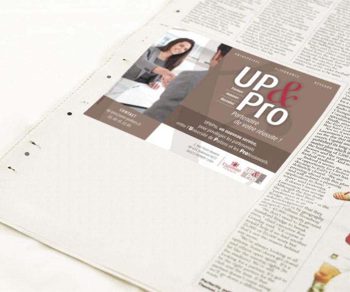 Pub UP&Pro - Newspaper