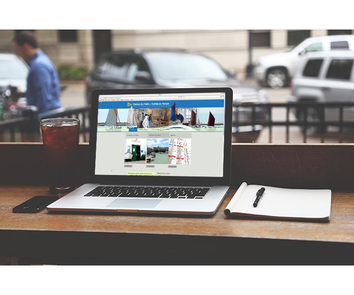 Site internet Maison du Platin