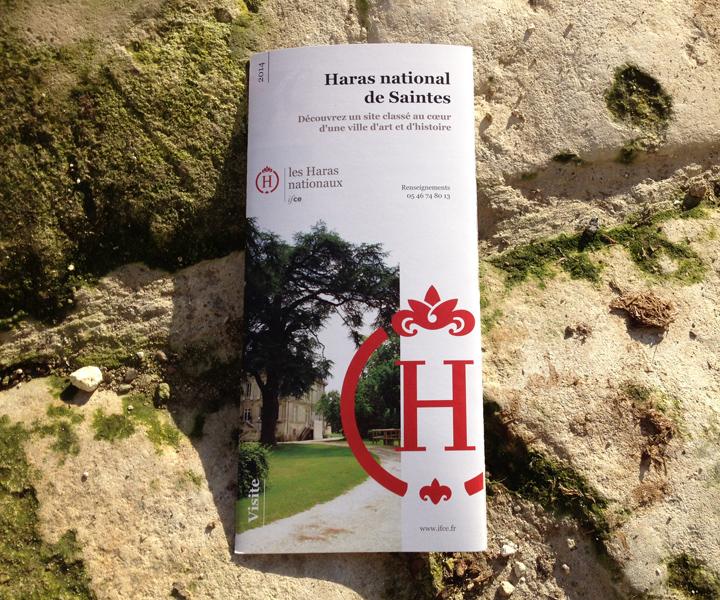 IFCE / Dépliant visite HN Saintes