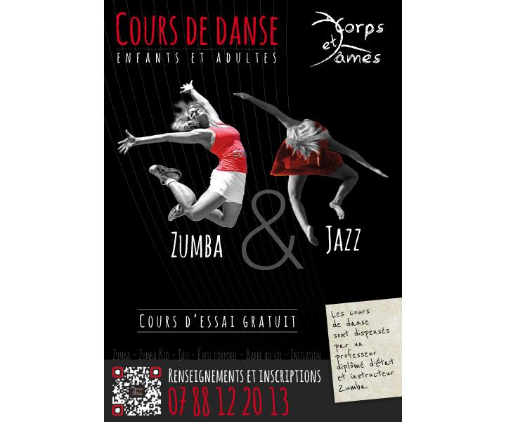 Danse Corps et Ames affiche