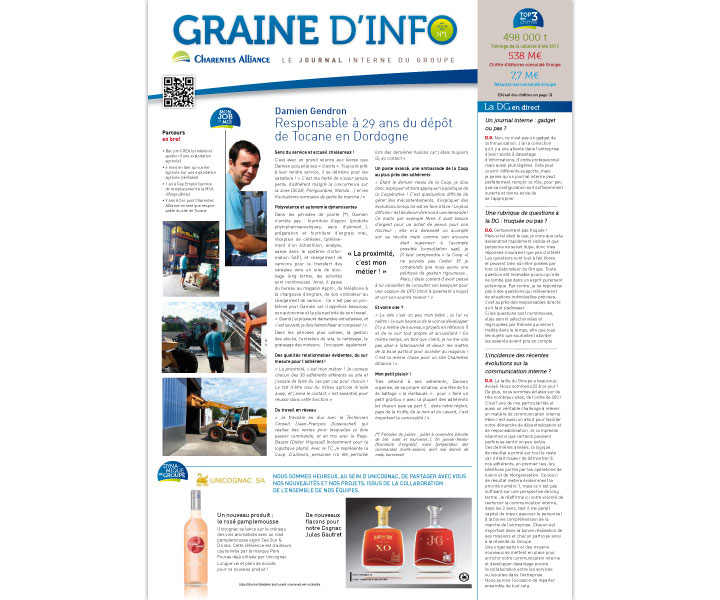 Charentes Alliance Graine d'info