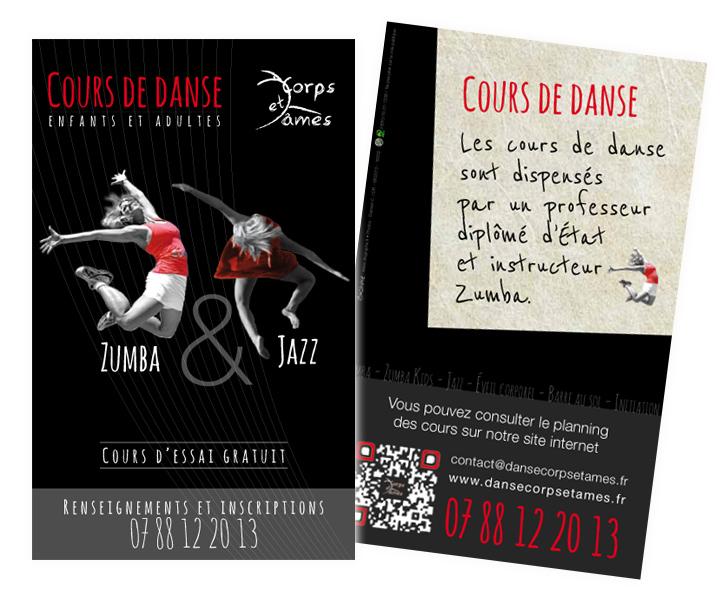 Danse Corps et Ames flyer 2