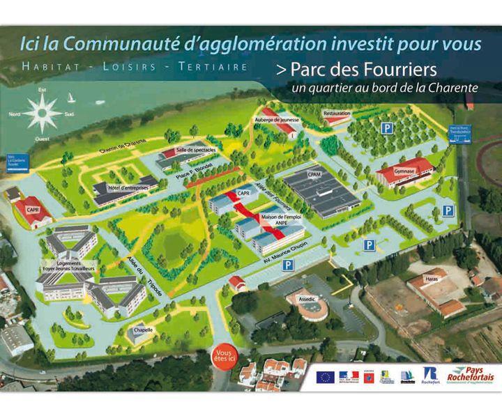 Communauté d'agglomération de Rochefort panneau