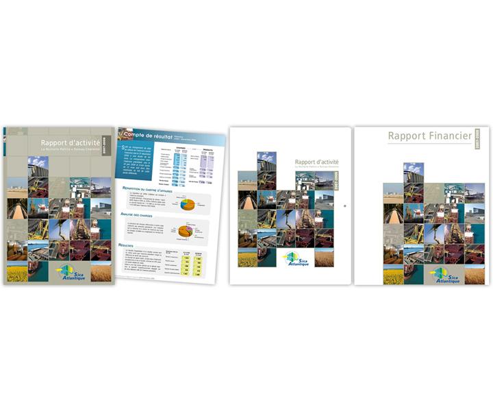Sica Atlantique rapport d'activité 2007 2008