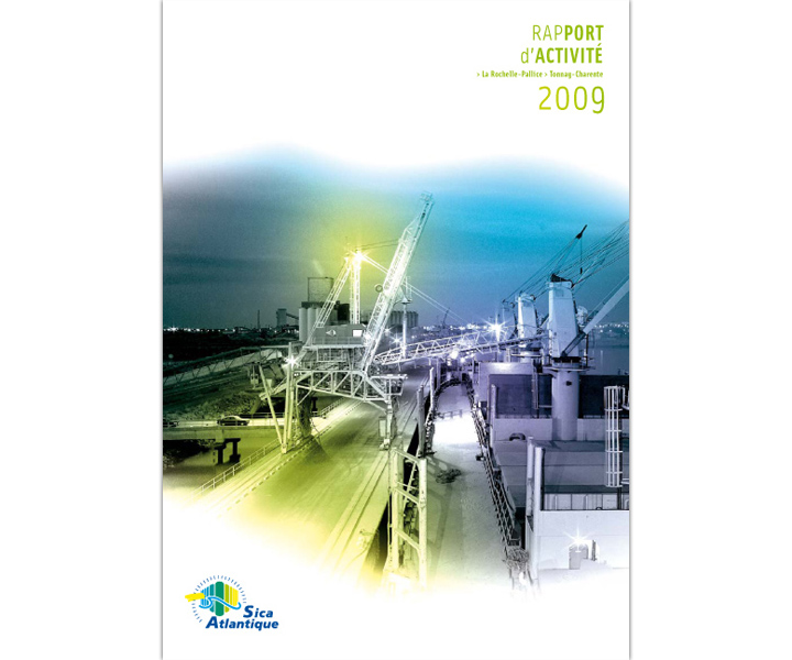 Sica Atlantique rapport d'activité 2009