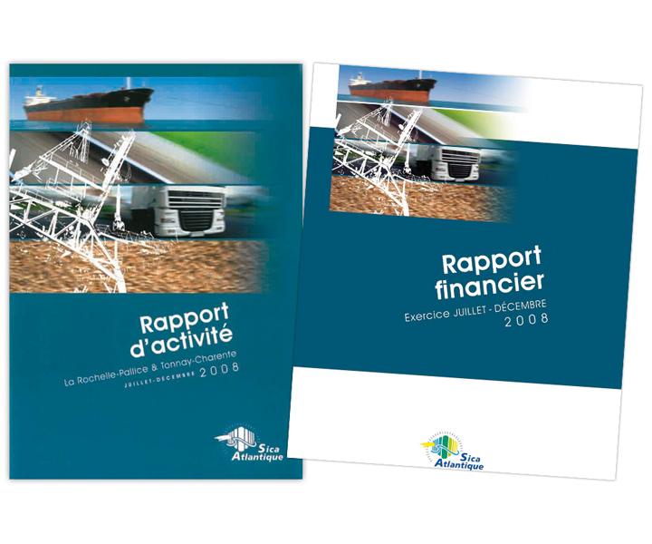 Sica Atlantique rapport d'activité 2008