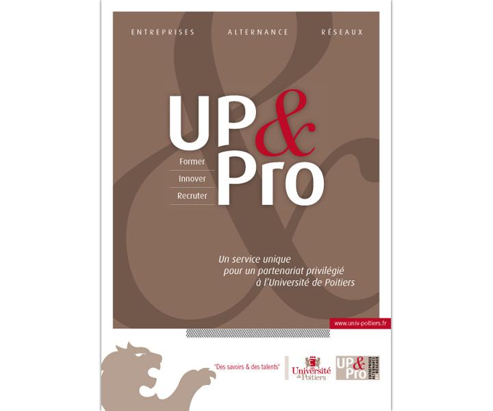 UP&PRO plaquette