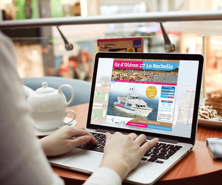 Trans Pertuis / Site internet Oleron - La Rochelle