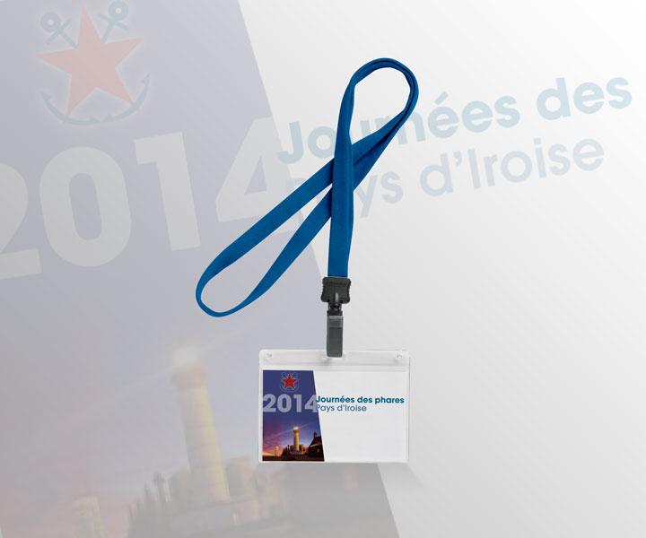 "Phares de France - Badge ""Journées des phares"""