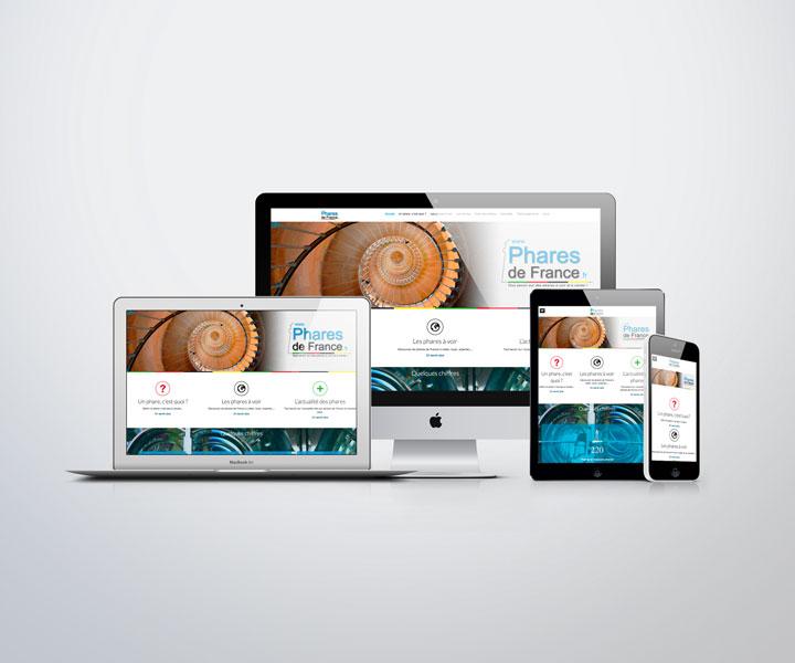 Phares de France - Site internet