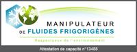 Logo manipulateur de fluides