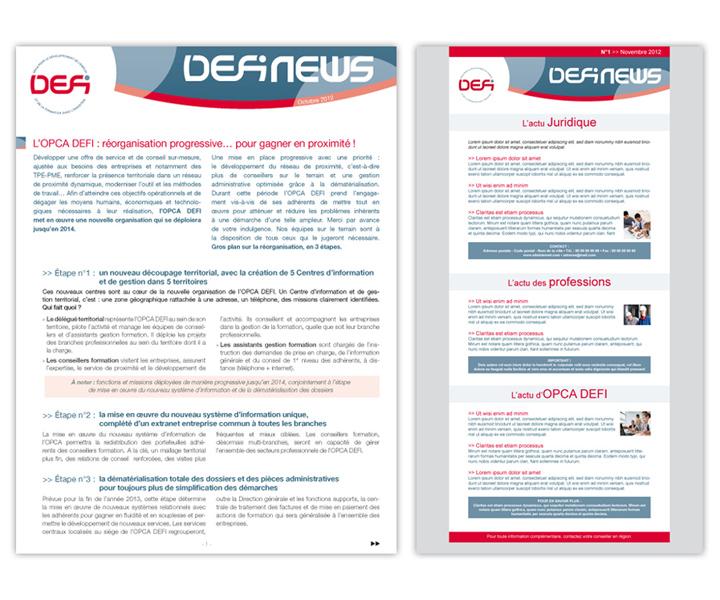 OPCA DEFI news