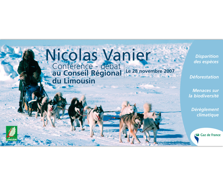 Nicolas Vanier invitation
