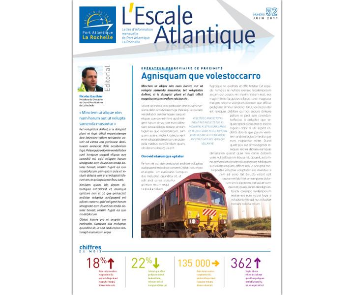 Port Atlantique La Rochelle lettre