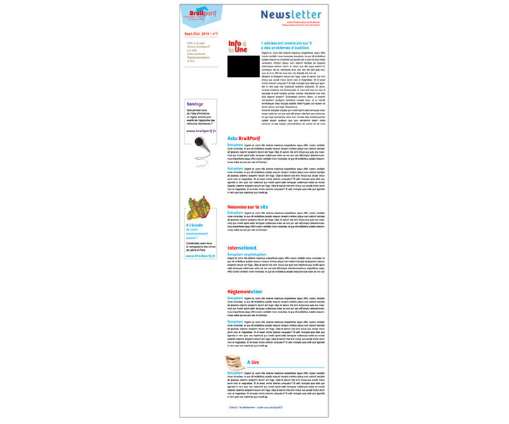 Bruitparif newsletter