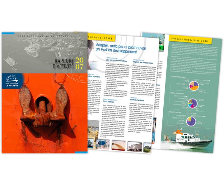 Port atlantique La Rochelle rapport d'activité 2007