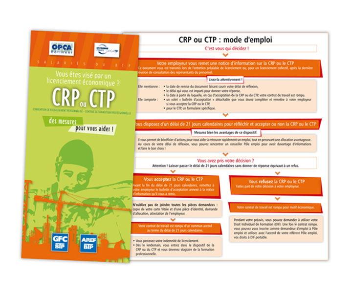GFC BTP CRP CTP dépliant
