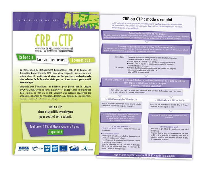 GFC BTP CRP CTP emailings